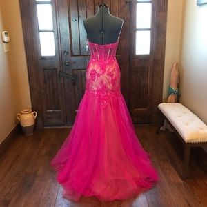 Mac Duggal Dresses - 🔥MAC DUGGAL Illusion Corset Gown! Price firm!